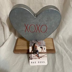 Rae Dunn Metal XOXO heart